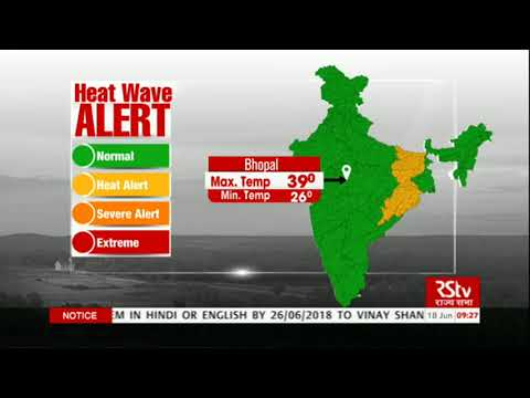 Today's Weather : Heat Wave Alert | June 18, 2018