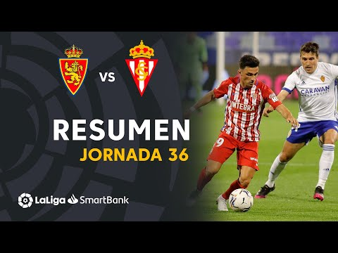 Zaragoza Gijon Goals And Highlights