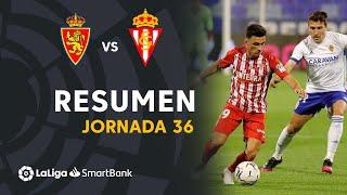 Resumen de Real Zaragoza vs Real Sporting (0-0)
