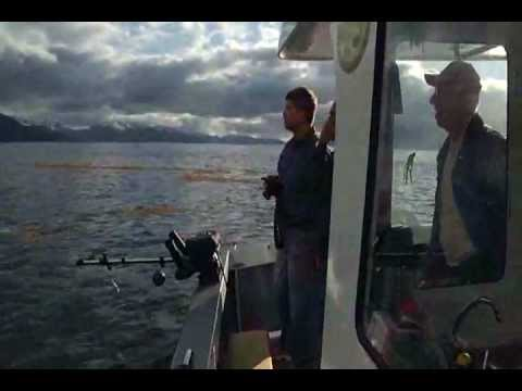 Highliner Lodge Charter Fishing Trip.flv