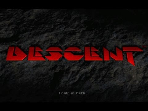 Descent (1994, Interplay) Opening Intro + Gameplay [HQ]