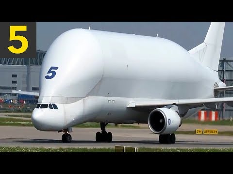 Top 5 Abnormally LARGE Planes you Wouldn't Believe can Fly