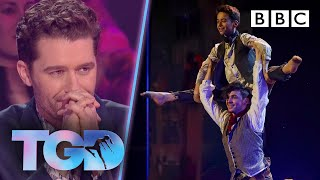 Emotional performance by Matthew's James & Oliver in Les Mis challenge - The Greatest Dancer | LIVE