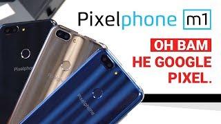 Он вам не Google Pixel! Распаковка Pixelphone M1 - первый смартфон новой марки!