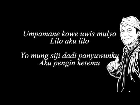 Didi Kempot  Sewu Kuto Lyric