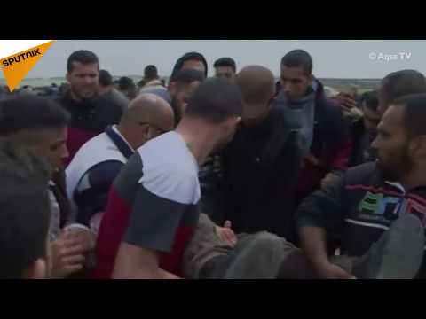 Gaza: Tear Gas Billows Amid Protests on Gaza-Israeli Border