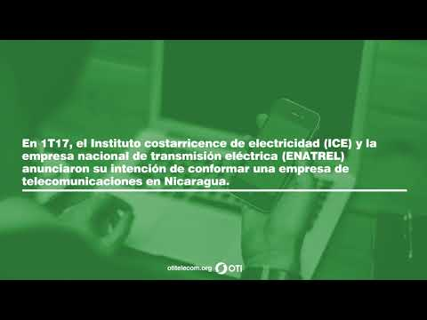 OTI Telecom - Reporte de Telecomunicaciones en Nicaragua – 1T2017