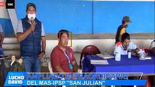 Ampliado Extraordinario Politico del MAS IPSP de San Julián de Santa Cruz