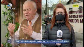 Stirile Kanal D (20.04.2021) - Alexandru Arsinel, infectat cu COVID dupa rapel! | Editie de pranz