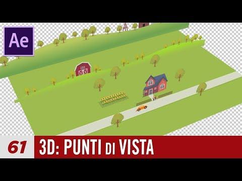 Corso After Effects - 61 - 3D: Punti di vista e Navigazione