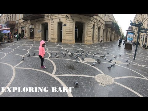 AIRPORT TO CENTRAL BAKU BY BUS AND METRO [] SHORT TRIP TO PARKS ON FIRST DAY