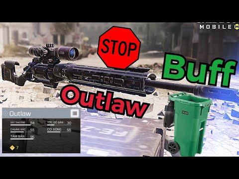 Call of duty mobile   outlaw là rác? SNIP YẾU NHẤT GAME ?   review outlaw