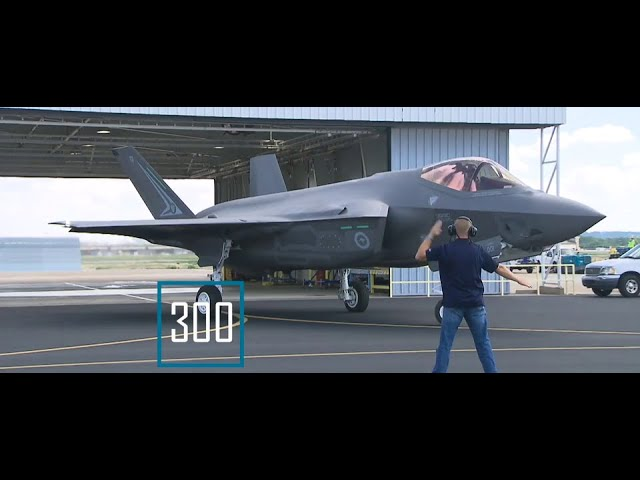 Pentagon and Lockheed Martin Deliver 300th F-35 Aircraft