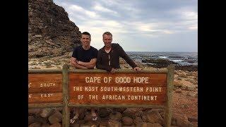 ЮАР #3. Пингвины в Африке. Рязанцев летит домой. Мыс доброй надежды.