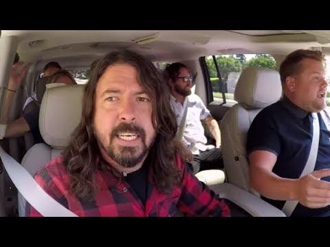 The Foo Fighters episode of 'Carpool Karaoke' w/ James Corden now release!