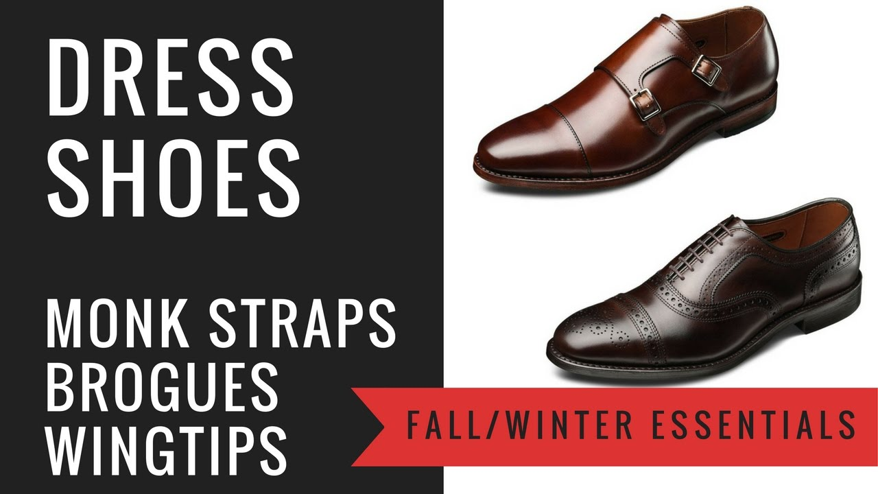 a291a31dd7cfb Men's Fall/Winter Dress Shoes - Double Monk Straps, Brogues, Wingtips -  Leather, Suede