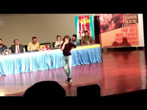 Samyukta Hegde (AarYa) KiRiK Party Promotions @ DSI
