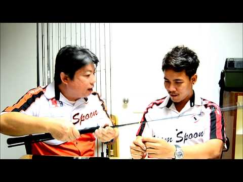 Siam Spoon Review Viper Sting Rod.