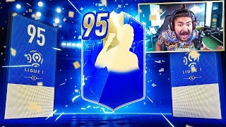 95 TOTS PACKED!! 100 TOTS PACKS!! FIFA 19