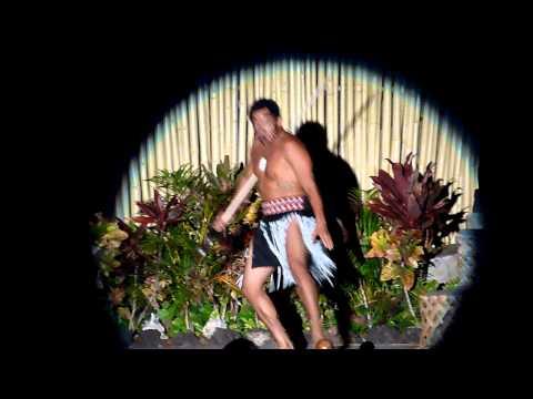 Luau Dance / Māori warrior introduction?