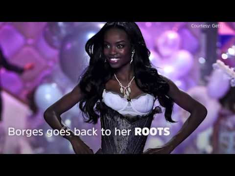 Victoria's Secret Model Maria Borges's Natural Hair Makes Runway History