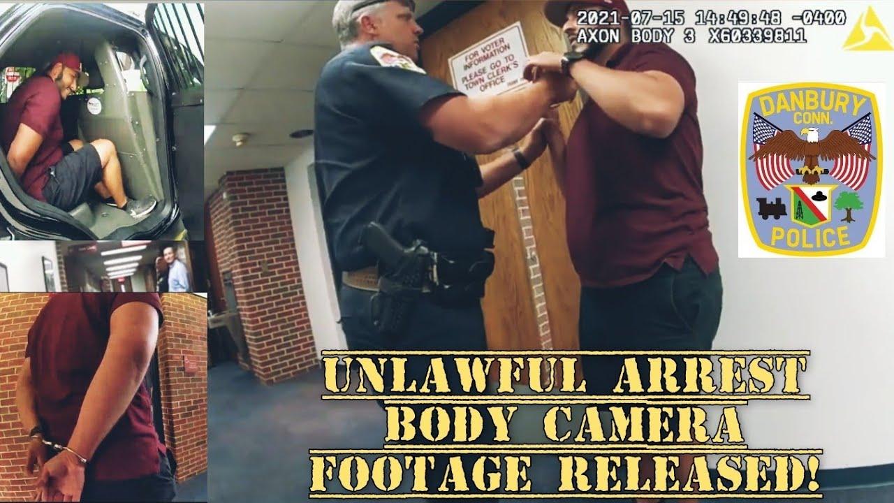 POLICE DEPARTMENT RETALIATES!  UNLAWFUL ARREST & SEIZURE OF PROPERTY! DANBURY, CT