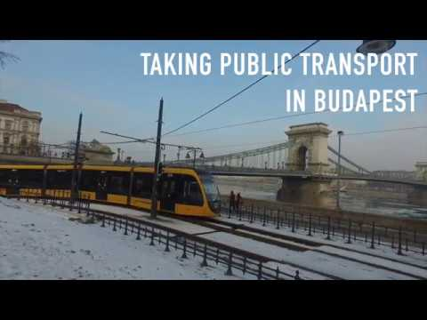 How to take Public Transport in Budapest