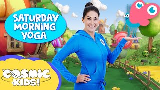 SATURDAY MORNING YOGA! | Coco the Butterfly and friends