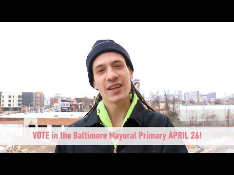 Citizen Artist Baltimore Gaia Arts Voter