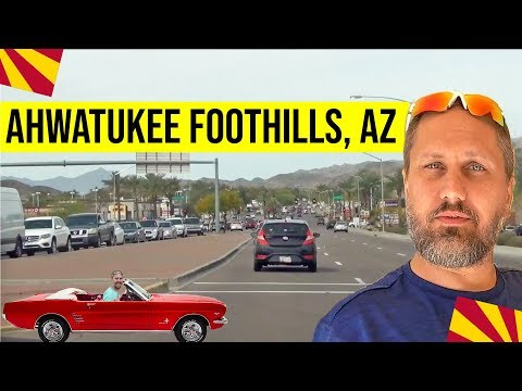Driving Tour of Ahwatukee Foothills, Phoenix, AZ: Living in Phoenix, Arizona