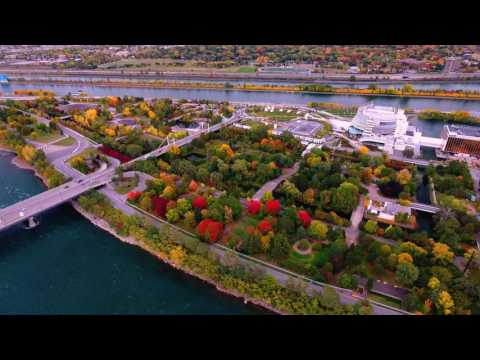 Breathtaking Drone Footage of Montreal's Old Port in 4K!!