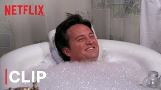 The One Where Chandler Tries A Bubble Bath | Friends | Netflix India