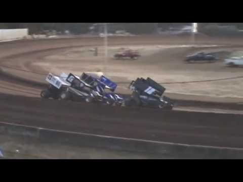 Cottage Grove Speedway, September 10, 2016, 360 Sprint Cars Heat Races 1 and 2