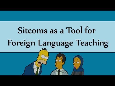 Sitcoms as a Tool for Foreign Language Teaching