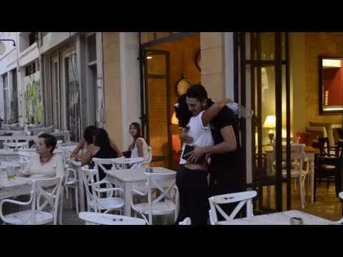 Free hugs - Ledras Street Nicosia Cyprus