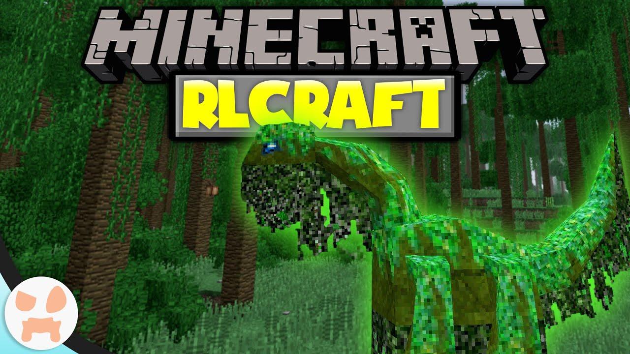 The Hardest Minecraft Version Rlcraft Episode 1 Youtube