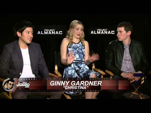 Allen Evangelista, Virginia Gardner, Sam Lerner   Project Almanac HD 2015