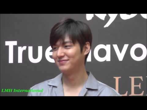 Lee Min Ho Kyochon Malaysia FM 20160325 part 1