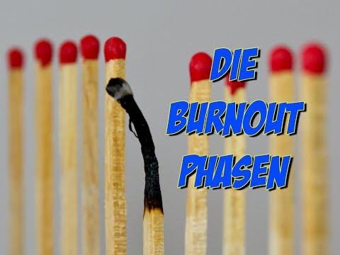 Burnout - die Entwicklungsphasen