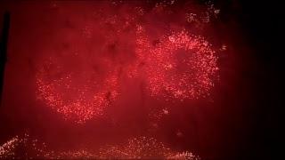 Москва. Праздничный артиллерийский салют в честь 72-й годовщины Победы в Великой Отечественной войне