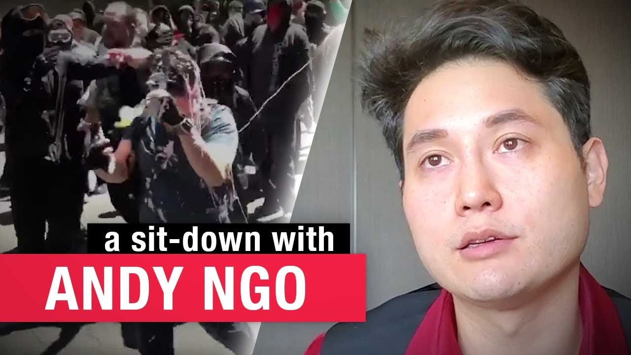 "Andy Ngo on political violence: ""It takes bravery to defend people who aren't popular"" 