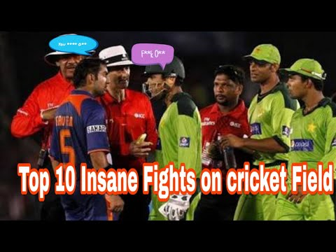 Top Fights? On Cricket Field Ever!! Gambhir|Akmal