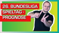 Bundesliga 26. Spieltag 2019/20 Wett Tipps Corona Wettprognosen  Sportwetten Dortmund - Schalke