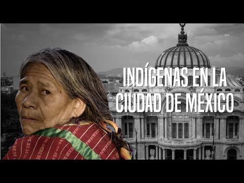 Indígenas en la Ciudad de México
