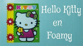 DIY Kitty en Foami, Goma Eva, Microporoso, Easy Crafts