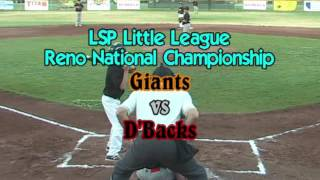 LSP Little League Championship Highlights