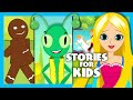 Short Stories For Kids In English | Moral Stories For Kids | The Gingerbread Man Song video