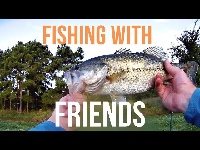 Fishing With Friends on Lake Woodlands