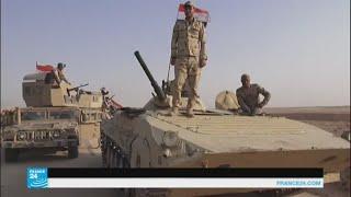القوات العراقية تبدأ عملية عسكرية لاستعادة قضاء عانة في الأنبار