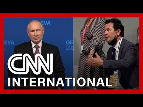 See how Putin responded to CNN reporter's questions after summit